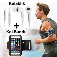 Exclusive Phone Case iPhone 6 6S Kol Bandı Spor Ve Koşu + Kulaklık