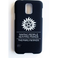 Köstebek Samsung S5 Supernatural - The Family Business Telefon Kılıfı