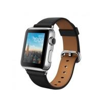 Apple Watch 38 Mm Paslanmaz Çelik Kasa Klasik Tokalı Siyah Kayış Mle62tu/A Akıllı Saat