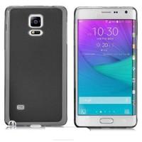 Mycolors Samsung Galaxy Note Edge Siyah İnce Silikon Arka Kapak - MYC-0070