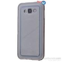 Case 4U Samsung Galaxy Core Prime Çerçeveli Silikon Kılıf Siyah