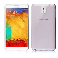 Microsonic Transparent Soft Samsung Galaxy Note 3 Kılıf Siyah