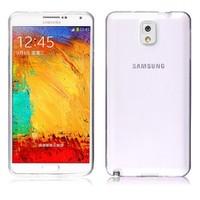 Microsonic Transparent Soft Samsung Galaxy Note 3 Kılıf Beyaz