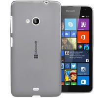 Microsonic Transparent Soft Microsoft Lumia 535 Kılıf Siyah
