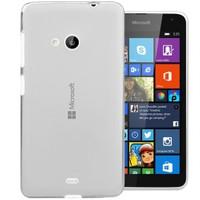 Microsonic Transparent Soft Microsoft Lumia 535 Kılıf Beyaz