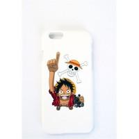 Köstebek One Piece - Luffy İphone 5 Telefon Kılıfı