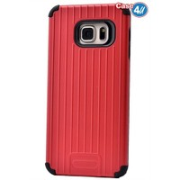 Case 4U Samsung Galaxy S6 Edge Plus Verse Korumalı Kapak Kırmızı