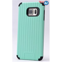 Case 4U Samsung Galaxy S6 Edge Plus Verse Korumalı Kapak Yeşil