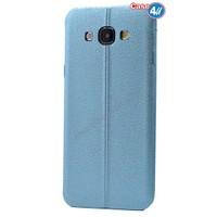 Case 4U Samsung A5 Parlak Desenli Silikon Kılıf Mavi