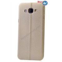 Case 4U Samsung A5 Parlak Desenli Silikon Kılıf Altın