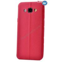 Case 4U Samsung J2 Parlak Desenli Silikon Kılıf Kırmızı