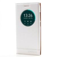 Cep Market Asus Zenfone 5 Lite Kılıf Pencereli Kapaklı Milano