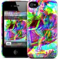 Gelaskins Apple iPhone 4 Hardcase Kılıf Horseman