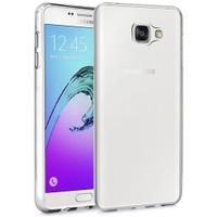 Microsonic Samsung Galaxy A3 2016 Kılıf Transparent Soft Beyaz