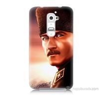 Teknomeg Lg G2 Kapak Kılıf Mustafa Kemal Baskılı Silikon