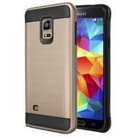 Microsonic Samsung Galaxy S5 Kılıf Slim Heavy Duty Gold