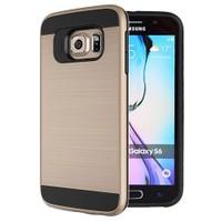 Microsonic Samsung Galaxy S6 Kılıf Slim Heavy Duty Gold