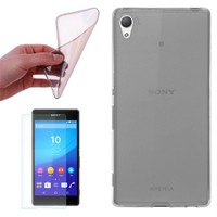 Cep Market Sony Xperia Z2 Kılıf 0.2Mm Antrasit Silikon - Cam