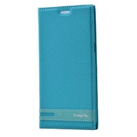 Teleplus Samsung Galaxy S6 Edge Plus Flip Cover Kılıf Turkuaz