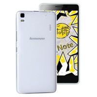 Microsonic Lenovo A7000 (K3 Note) Kılıf Transparent Soft Beyaz
