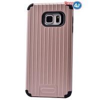 Case 4U Samsung Galaxy Note 5 Verse Korumalı Kapak Rose Gold