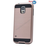 Case 4U Samsung Galaxy S4 Korumalı Kapak Rose Gold