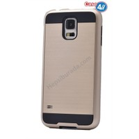 Case 4U Samsung Galaxy S5 Korumalı Kapak Altın