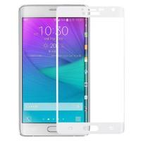 Bufalo Samsung Note Edge Çerçeveli Cam Ekran Koruyucu Beyaz