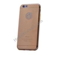 Fonemax Apple İphone 6S Plus Elegance Silikon Kılıf Altın