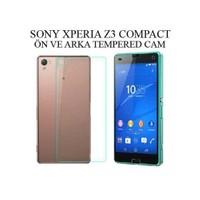 Markacase Sony Xperia Z3 Compact Ön Ve Arka Tempered 0,26 Mm
