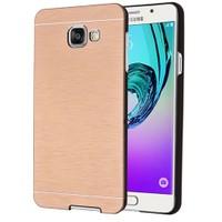 Microsonic Samsung Galaxy A5 2016 Kılıf Hybrid Metal Gold