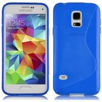 CoverZone Samsung Galaxy S5 Kılıf Silikon S-Line