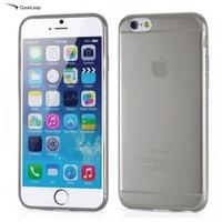 Case Leap İphone 6S Plus İnce Silikon Kılıf Füme