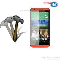 Case 4U HTC Desire 820 Ekran Koruyucu (,Cizilmez-Anti Shock)