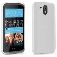 Case 4U HTC 526 Dual Sim Ultra İnce Silikon Kılıf Şeffaf