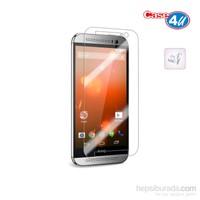 Case 4U HTC ONE M8 Ultra Şeffaf Ekran Koruyucu