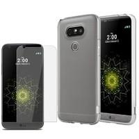 Kılıfshop Lg G5 Silikon Kılıf + Ekran Koruyucu