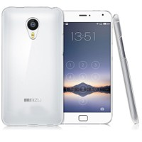 Case 4U Meizu MX4 Pro Ultra İnce Silikon Kılıf Şeffaf