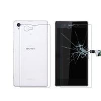 Microcase Sony Xperia Z1 Compact Ön Arka Takım Tempered Glass Cam Koruma