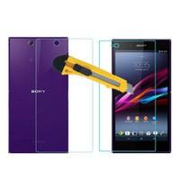 Microcase Sony Xperia Z Ultra Ön Arka Takım Tempered Glass Cam Koruma