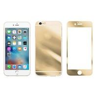 Microcase Apple İphone 6-6S Ön Arka Takım Gold Tempered Glass Cam Koruma