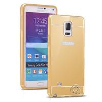 Microsonic Samsung Galaxy Note 4 Kılıf Luxury Mirror Gold