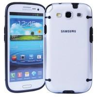 Microsonic Hybrid Transparant Kılıf - Samsung Galaxy S3 İ9300 Siyah