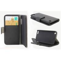 Microsonic Cüzdanlı Standlı Deri Kılıf - İpod Touch 5 Siyah