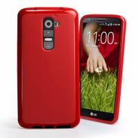 Microsonic Glossy Soft Kılıf Lg G2 Kırmızı