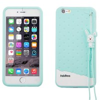 Fabitoo Apple iPhone 6S Candy Kılıf Turkuaz