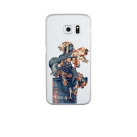 Remeto Samsung S6 Edge Plus Silikon Su İçin Savaşanlar