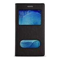 Volpawer Samsung Galaxy S7 Gizli Mıknatıslı Pencereli Kılıf Siyah