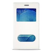 Volpawer Samsung Galaxy S4 Mini Gizli Mıknatıslı Pencereli Kılıf Beyaz