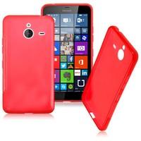 Case 4U Microsoft Lumia 640 XL Soft Silikon Kılıf Kırmızı